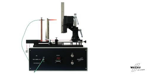 Glow wire testing device GPD DIN EN 60695-2-10
